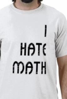 Odio las mates